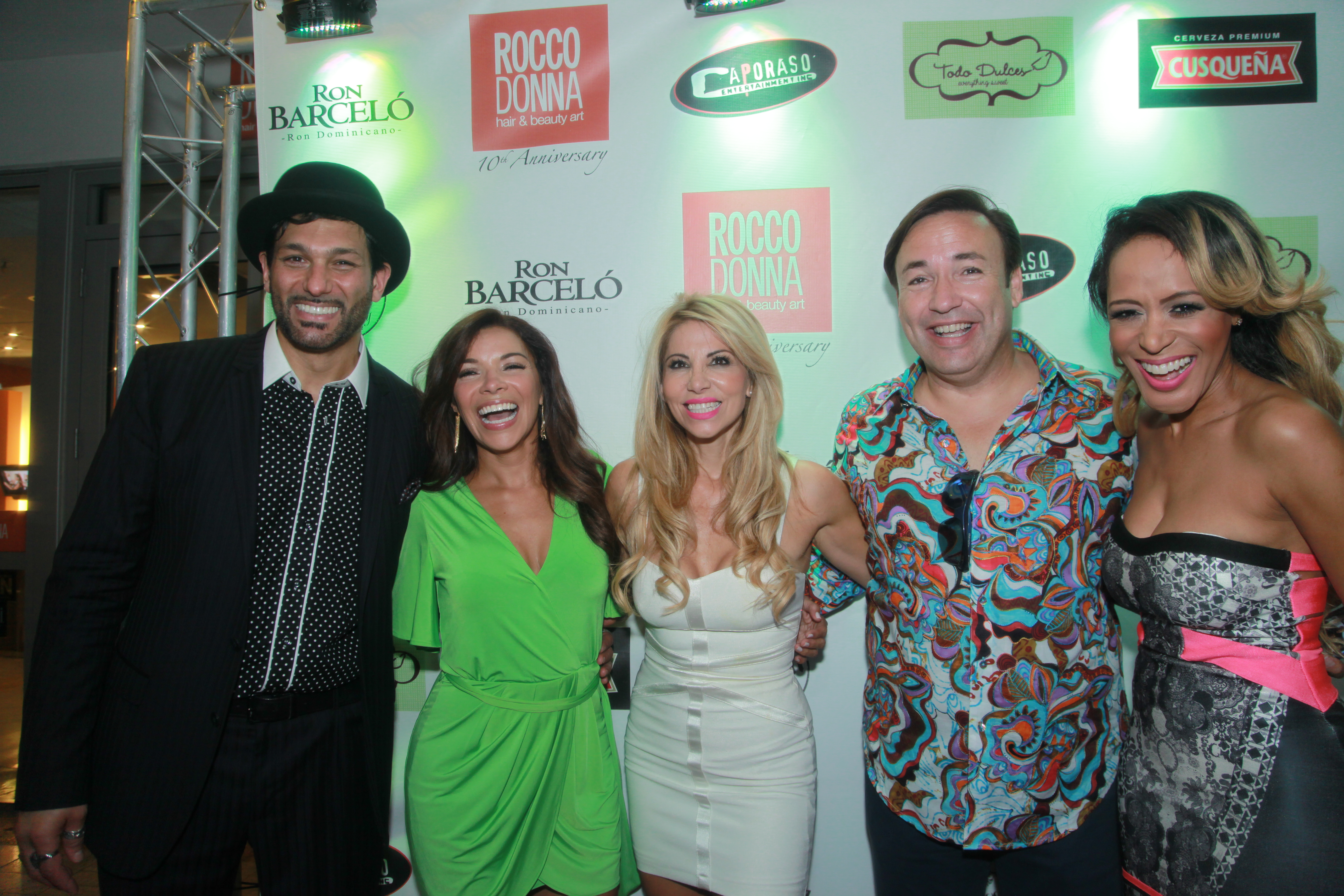 rocco donna hair and beauty art celebrated its 10th