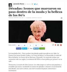 Huffington Decadas 80's